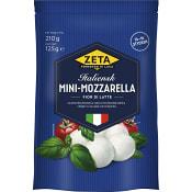 Mozarella mini 125g Zeta