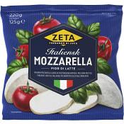 Mozzarella Italiensk 125g Zeta