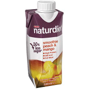 Smoothie Peach & mango Viktkontroll 330ml Naturdiet