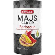Majskakor Barbecue 125g Friggs