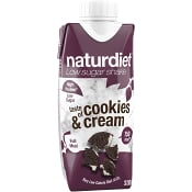 Cookies & Cream Shake 330ml Naturdiet
