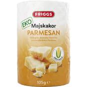 Majskakor Parmesan Ekologisk 105g Friggs