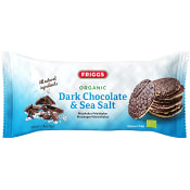 Majskakor Mörk choklad & havssalt Ekologisk 100g Friggs