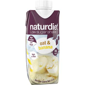 Viktkontroll Shake Oat & banana 330ml Naturdiet