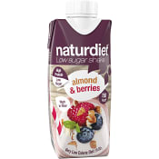 Måltidsersättning Shake Almond & berries 330ml Naturdiet