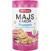 Majskakor Popcorn 125g Friggs