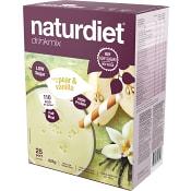 Måltidsersättning Drinkmix Pear & vanilj 825g Naturdiet