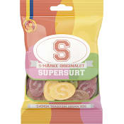 S-märke orginalet Supersurt 80g Candypeople