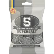 S-märke orginalet Supersalt 80g Candypeople