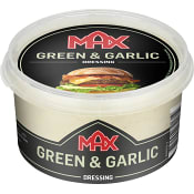 Hamburgerdressing Green & garlic 220ml Max
