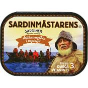 Brisling Delikatessrökt 100g Sardinmästarens
