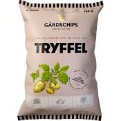 Krispiga chips med smak av Tryffel 150g Gårdschips