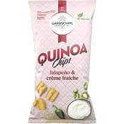Quinoa Snacks Jalapeno & creme fraiche 70g Gårdschips