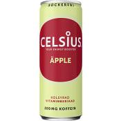 Energidryck Äpple & ingefära 35,5cl Celsius