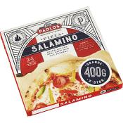 Pizza napoli salamino 400g Paolos