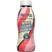 Proteinmilkshake ProPud White chocolate raspberry Laktosfri 330ml NJIE