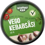 Vego Kebabsås Vegansk 160ml Schysst käk