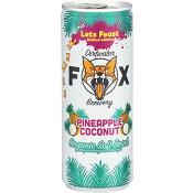 Läsk Ananas Kokos 250ml Dirtwater Fox