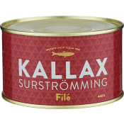 Surströmmingsfilé 300g Kallax