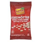 Jordnötter Rostade & saltade 180g Exotic Snacks