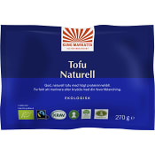 Tofu Naturell 270g KRAV Kung markatta