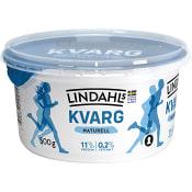 Kvarg Naturell 0,2% 500g Lindahls