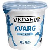 Kvarg Naturell 0,2% 900g Lindahls