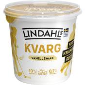 Kvarg Vanilj 0,2% 900g Lindahls