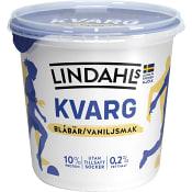 Kvarg Blåbär & vanilj 900g Lindahls
