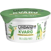 Kvarg Päron/Vanilj 0,2% 150g Lindahls