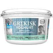 Grekisk Youghurt 0% Laktosfri 500g Salakis