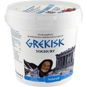 Yoghurt Grekisk 10% 1kg Lindahls