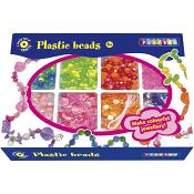 Plastpärlor Pärlset Playbox
