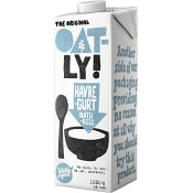 Havregurt Naturell 2% 1l Oatly