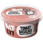 Bredbart pålägg Tomat basilika 150g Oatly