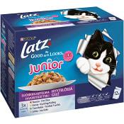 Kattmat Våt Junior Favoriträtter 100g 12-p Latz