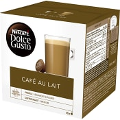 Kaffekapslar, Dolce Gusto, Café au lait, 16-p, Nescafe