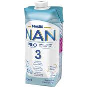 Nan 3 juniormjölk Från 1år Drickfärdig 500ml Nestle