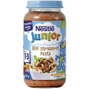 Biff stroganoff pasta Från 15m 250g Nestle