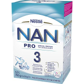 Nan 3 Pro Juniormjölk Från 10m 700g Nestle