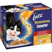 Kattmat Våt Sensations Crunchy 104g 10-p Latz