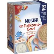 Fullkornsgröt Yoghurt & äpple 12m 480g Nestle