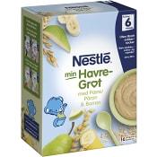 Havregröt Päron & banan 6m 480g Nestle