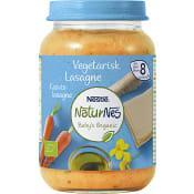Barnmat Vegetarisk lasagne 8mån Ekologisk 190g Nestle