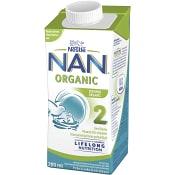 Bröstmjölkersättning NAN Pro2 Ekologisk 6mån Drickfärdig 200ml Nestle