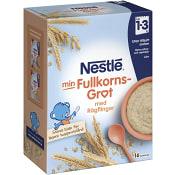 Fullkornsgröt med rågflingor 18m 480g Nestle