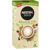 Snabbkaffe Almond latte 6-p Nescafe