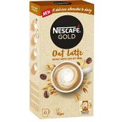 Snabbkaffe Oat latte 6-p Nescafe