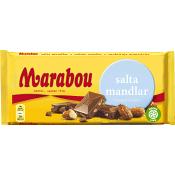 Chokladkaka Salta mandlar 200g Marabou