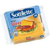Cheddarost Slices 10-p 200g Sottilette
